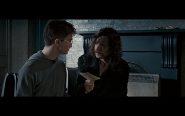 Harry and Sirius