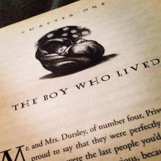Sorcerer's Stone First Page
