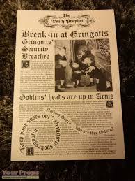 Gringotts Break in