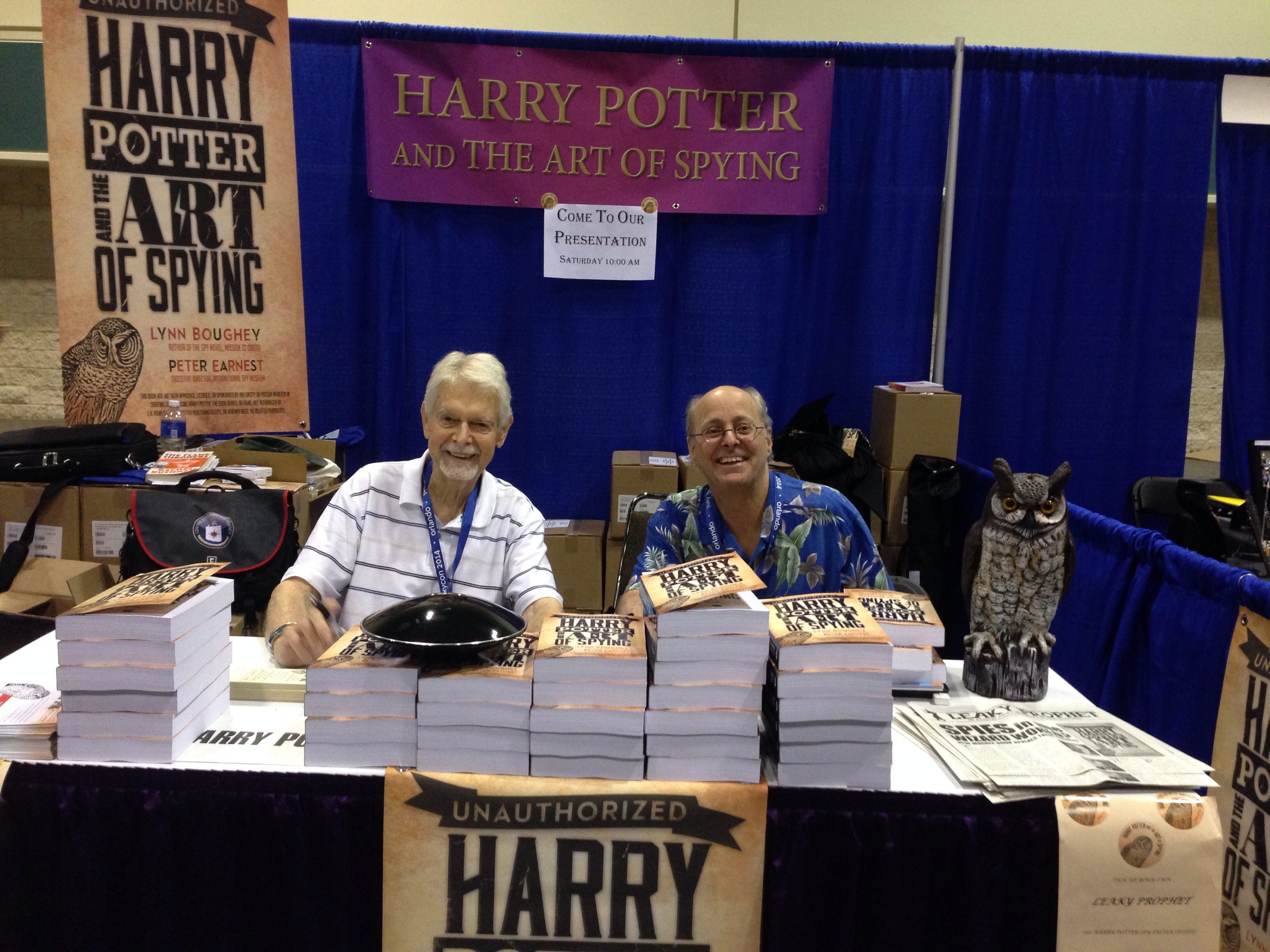 LeakyCon 2014 - The Art of Spying
