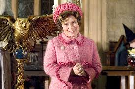 Umbridge Giving Speech