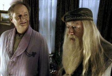 Slughorn and Dumbledore