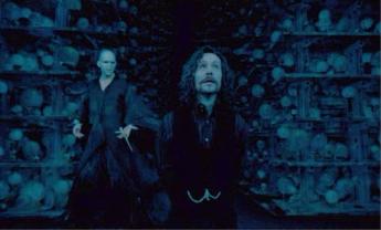 Voldemort torturing Sirisu