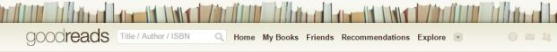 Goodreads Header